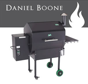 daniel boone green mountain grill