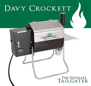 davy crockett green mountain grill
