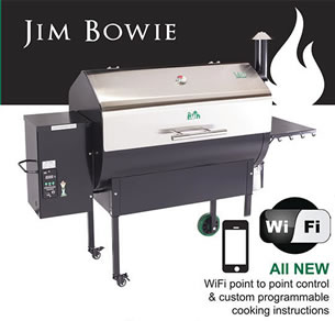jim bowie green mountain grill
